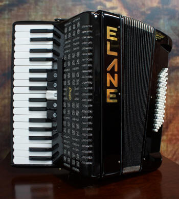 Elane Student Accordion 34 Key 60 Bass