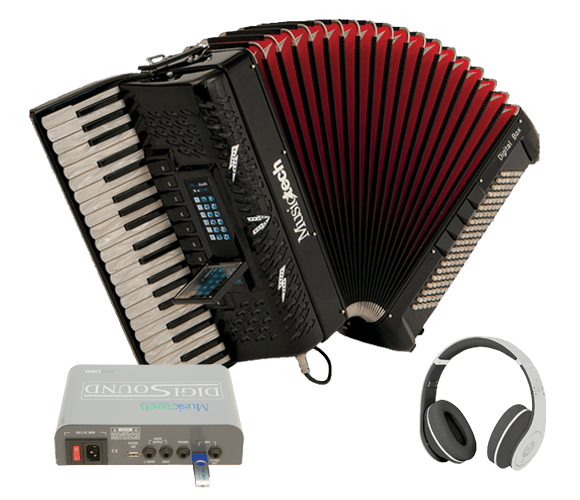 Digital Piano and Chromatic Accordions