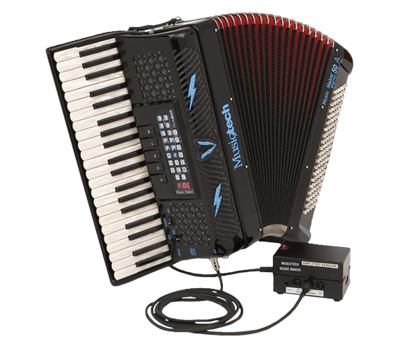 Amplified Digital Accordions