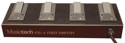 Accordions Asia Musictech FS-4 Foot Switch